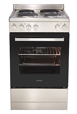Euromaid 54cm Electric Freestanding Oven/Stove EFS54S