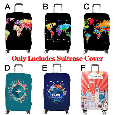 Elastic Travel Baggage Luggage Case Cover Dustproof Suitcase Thicken Protector
