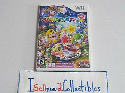 Wii Mario Party 9 (Nintendo Wii, 2012) TESTED **** PLEASE READ ****