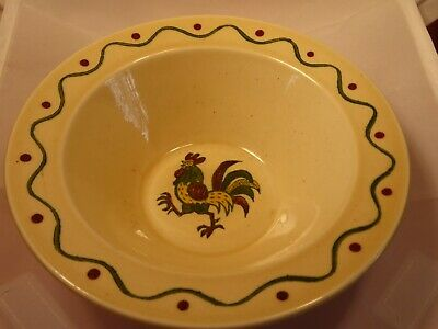 vintage Metlox California pottery poppytrail small serving bowl or soup bowl
