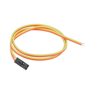 Breadboard Jumper Wires 2-Pin 40cm Female to Tined Tip Cable for Arduino