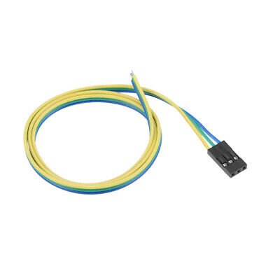 Breadboard Jumper Wires 3-Pin 50cm Female to Tined Tip Cable for Arduino