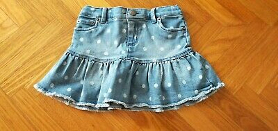Country Road Denim Skirt With Spots Sz 6