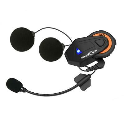 FreedConn T-MAX 1500m BT moto Moto casque Intercom 6 coureurs casque Inte