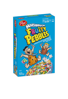 Post Marshmallow Fruity Pebbles 311g (Pack of 2)