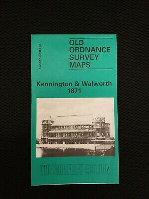 Old Ordnance Survey Maps - Kennington & Walworth 1871 - The Godfrey Edition
