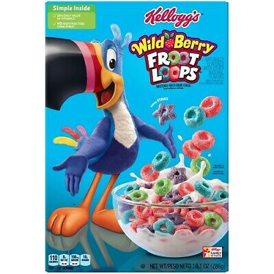 Kellogg's Froot Loops Cereal Wild Berry 10.1oz