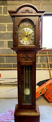 Emperor Grandfather Clock 8 day Westminister Chiming Moon Phase