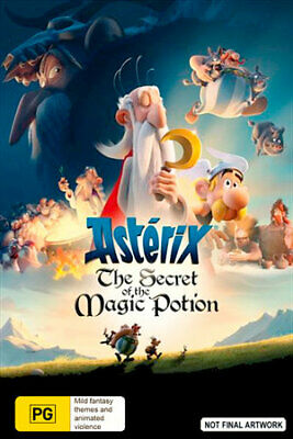 Asterix - The Secret Of The Magic Potion (DVD) (Region 4) New Release