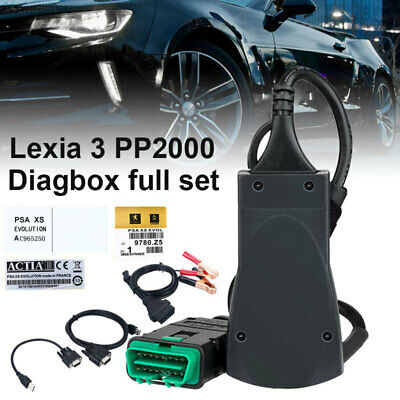 Lexia 3 PP2000 Full Chip Diagbox V7.83 921815C Diag Tool Fit For Citroen Peugeot