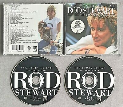 ROD STEWART - THE STORY SO FAR: THE VERY BEST OF ROD STEWART * * 2001 Double CD