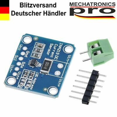 INA219 STROM CURRENT Spannung Voltage Leistungs Power I2C