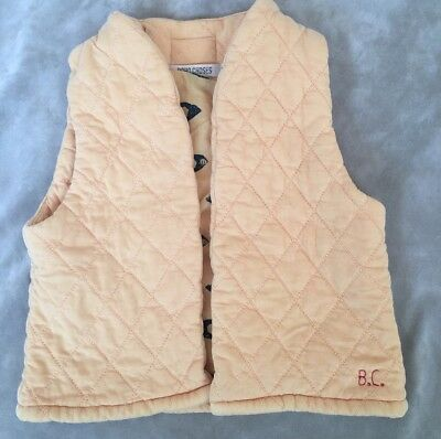 Bobo Choses quilted vest BNWOT size 6/7