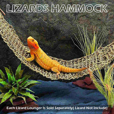 Reptile Hammock Lizard Lazy Gecko Decorative Accessories Net Hanging Bed Toys