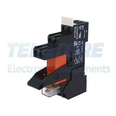1Set RT4S4LC4 Relais d'interface DPDT Ude bobine 24VDC 8A 8A/250VAC