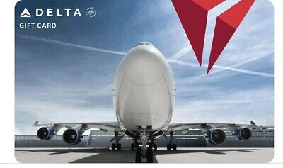 DELTA E-giftcard 3 X 50$ Gift Cards Instant Delivery Airlines Flights