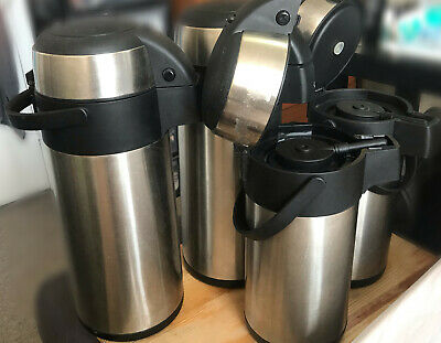 4 Hot drinks Flasks for sale. 2x 5 Litres and 2x 3 Litres