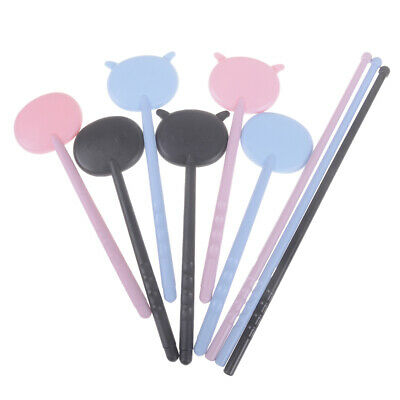 1Pc cartoon eye occluder spoon for vision test eye chart exam black blue pink 0c