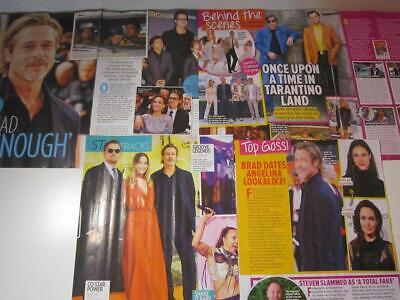 ONCE UPON A TIME IN HOLLYWOOD*Magazine Clippings*Brad Pitt Leonardo DiCaprio
