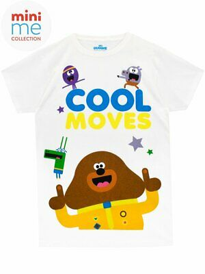 Boys Girls Kids Hey Duggee Cool Moves T-Shirt 18-24 Months New