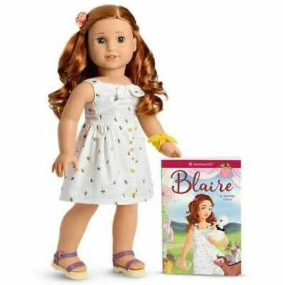 American Girl Blaire Doll and Book NEW In BOX