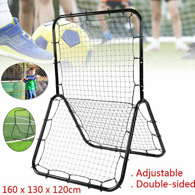 Adjustable Rebounder Elastic Net Double-sided Football Training Passing Shooting