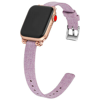 Nylon Canvas Strap for apple watch Series 4/3/2 Jewelry iwatch 38mm/40mm Bands
