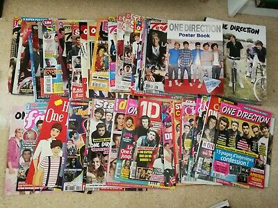 lot de magazines One Direction