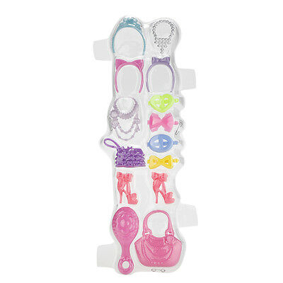 1 Set Blister toy for  Plastic Necklace Bag Shoes Hairpin for  DoHKBLUS