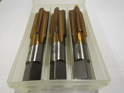 """Lot Of Three - 1""""-20 Hs Four Flute Plug Tap - Gh3 -  Made In Japan"""