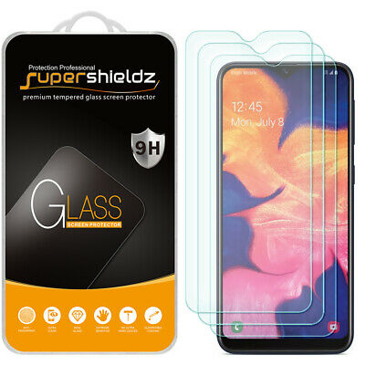 [3-Pack] Supershieldz Tempered Glass Screen Protector for Samsung Galaxy A10e