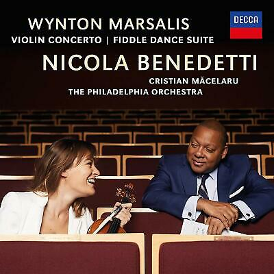 |1523188| Wynton Marsalis - Violin Concerto, Fiddle Dance Suite [CD] New