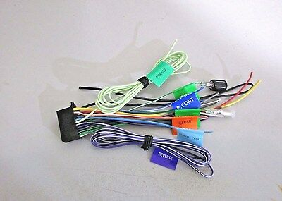 XTENZI WIRE POWER Harness cord 22 Pin for kenwood DDX DNX ... on