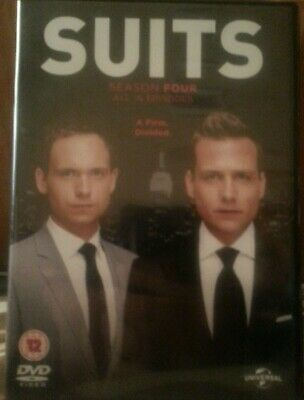 Suits Season 4 DVD Patrick J. Adams Meghan Markle Gabriel Macht