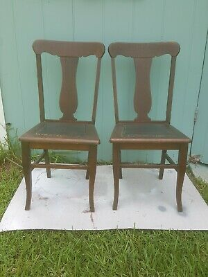 Antique Nice set of Desk Chair / Sidechair by Murphy Company. RARE