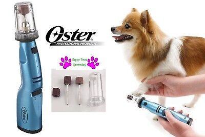 Oster Gentle Pattes Animal Chien Chat sans Fil Ongle Meuleuse Toilette Pince Bec