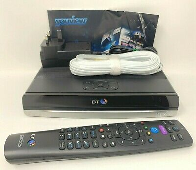BT Humax DTR-T2100 YouView Freeview+ HD 500GB Twin Tuner Recorder Box PVR