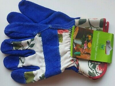 Ladies Gardening Gloves by Westwood Beautiful Floral Quality *NEW w/ TAGS*