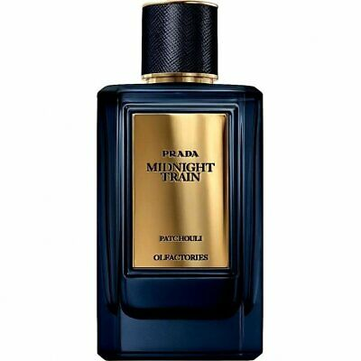 PRADA MIRAGES Midnight Train  PATCHOULI EDP  NUOVO 100 ml No Box