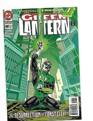 Green Lantern vol. 3 #48 First Appearance Kyle Rayner Key Issue