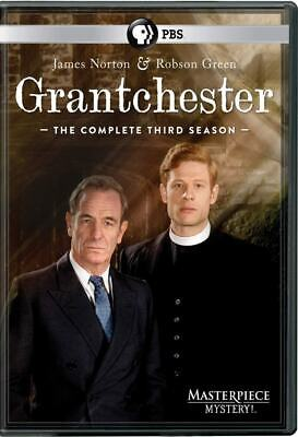 Grantchester - Season 3 (Dvd 2017) 380 Minutes On 3 Discs (New, Sealed)