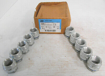 """(10) Crouse-Hinds HUB2 Conduit Hub with Insulated Throat 3/4"""""""