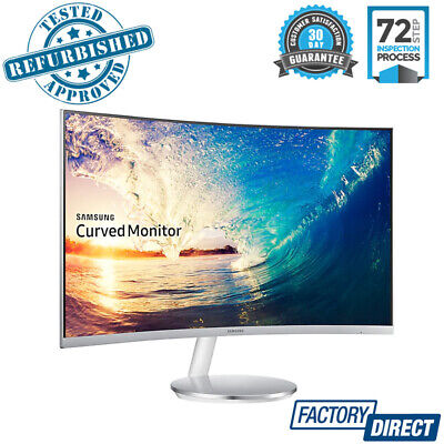 """Samsung 27"""" Curved Fhd Gaming Business Monitor Pc Computer Screen Lc27F591Fde"""