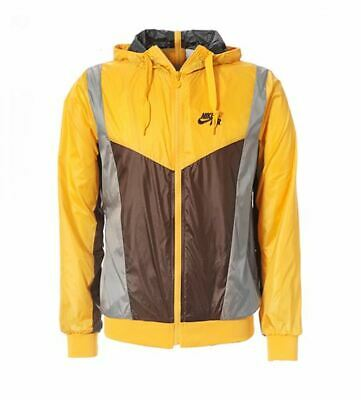 Nike Air WINDBREAKER JACKET GOLD MENS HOMME
