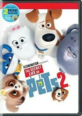 The Secret Life of Pets 2 DVD Free Shipping ****AUTHENTIC****