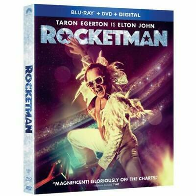 Rocketman (2019) Blu-ray ONLY with case/slip cover - Ships Now