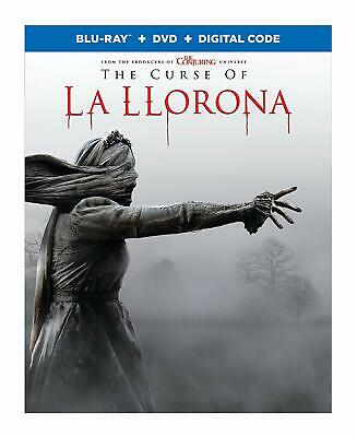 The Curse of La Llorona l(Blu-ray + DVD + Digital) 2019 w/ SLIP COVER