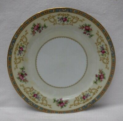 """NORITAKE china COLBY BLUE 5032 pattern Dinner Plate - 10"""""""