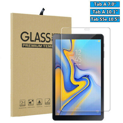 New Tempered Glass Screen Protector For Samsung Galaxy Tab A 10.1 S5e 10.5 2019