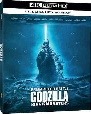 Godzilla: King of the Monsters 4K Ultra HD + Blu-ray (NO DIGITAL) 2019, 8/27